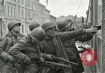 Image of 16th Armored Division greeted by Czech citizens Pilsen Czechoslovakia, 1945, second 55 stock footage video 65675062817
