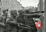 Image of 16th Armored Division greeted by Czech citizens Pilsen Czechoslovakia, 1945, second 56 stock footage video 65675062817