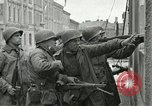 Image of 16th Armored Division greeted by Czech citizens Pilsen Czechoslovakia, 1945, second 57 stock footage video 65675062817