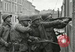 Image of 16th Armored Division greeted by Czech citizens Pilsen Czechoslovakia, 1945, second 58 stock footage video 65675062817