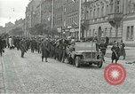 Image of United States soldiers Pilsen Czechoslovakia, 1945, second 3 stock footage video 65675062819