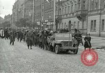Image of United States soldiers Pilsen Czechoslovakia, 1945, second 4 stock footage video 65675062819