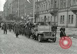 Image of United States soldiers Pilsen Czechoslovakia, 1945, second 5 stock footage video 65675062819