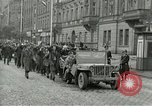 Image of United States soldiers Pilsen Czechoslovakia, 1945, second 7 stock footage video 65675062819
