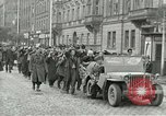 Image of United States soldiers Pilsen Czechoslovakia, 1945, second 9 stock footage video 65675062819