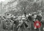 Image of United States soldiers Pilsen Czechoslovakia, 1945, second 18 stock footage video 65675062819