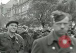 Image of United States soldiers Pilsen Czechoslovakia, 1945, second 20 stock footage video 65675062819