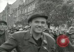 Image of United States soldiers Pilsen Czechoslovakia, 1945, second 21 stock footage video 65675062819