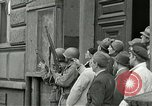 Image of United States soldiers Pilsen Czechoslovakia, 1945, second 30 stock footage video 65675062819