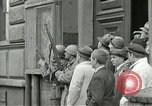 Image of United States soldiers Pilsen Czechoslovakia, 1945, second 32 stock footage video 65675062819