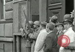 Image of United States soldiers Pilsen Czechoslovakia, 1945, second 33 stock footage video 65675062819