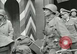 Image of United States soldiers Pilsen Czechoslovakia, 1945, second 46 stock footage video 65675062819
