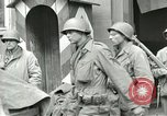 Image of United States soldiers Pilsen Czechoslovakia, 1945, second 49 stock footage video 65675062819