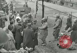 Image of United States soldiers Pilsen Czechoslovakia, 1945, second 61 stock footage video 65675062819