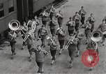 Image of US Army soldiers board trains for war United States USA, 1944, second 1 stock footage video 65675062823