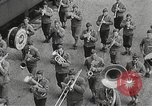 Image of US Army soldiers board trains for war United States USA, 1944, second 4 stock footage video 65675062823