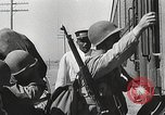 Image of US Army soldiers board trains for war United States USA, 1944, second 14 stock footage video 65675062823