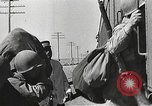 Image of US Army soldiers board trains for war United States USA, 1944, second 15 stock footage video 65675062823