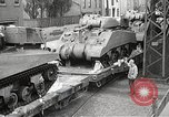 Image of US Army soldiers board trains for war United States USA, 1944, second 28 stock footage video 65675062823