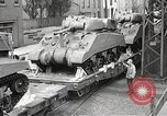 Image of US Army soldiers board trains for war United States USA, 1944, second 30 stock footage video 65675062823