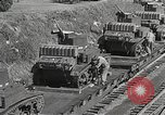 Image of US Army soldiers board trains for war United States USA, 1944, second 38 stock footage video 65675062823