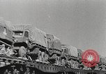Image of US Army soldiers board trains for war United States USA, 1944, second 46 stock footage video 65675062823