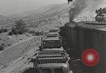 Image of US Army soldiers board trains for war United States USA, 1944, second 48 stock footage video 65675062823