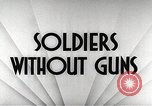 Image of United States soldiers European Theater, 1944, second 19 stock footage video 65675062825