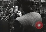Image of telephone operator United States USA, 1944, second 6 stock footage video 65675062826