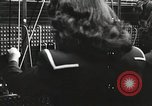 Image of telephone operator United States USA, 1944, second 9 stock footage video 65675062826