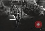 Image of telephone operator United States USA, 1944, second 11 stock footage video 65675062826