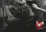 Image of telephone operator United States USA, 1944, second 12 stock footage video 65675062826