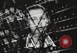 Image of telephone operator United States USA, 1944, second 31 stock footage video 65675062826
