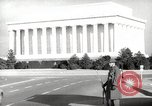 Image of Lincoln Memorial Washington DC USA, 1941, second 2 stock footage video 65675062830