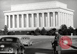 Image of Lincoln Memorial Washington DC USA, 1941, second 4 stock footage video 65675062830