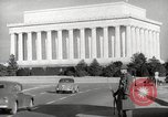 Image of Lincoln Memorial Washington DC USA, 1941, second 5 stock footage video 65675062830