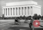 Image of Lincoln Memorial Washington DC USA, 1941, second 10 stock footage video 65675062830