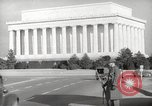 Image of Lincoln Memorial Washington DC USA, 1941, second 13 stock footage video 65675062830