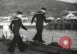 Image of US Navy submarines transferred to Britain and Poland New London Connecticut USA, 1941, second 33 stock footage video 65675062833