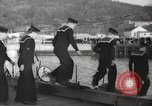 Image of US Navy submarines transferred to Britain and Poland New London Connecticut USA, 1941, second 39 stock footage video 65675062833