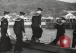 Image of US Navy submarines transferred to Britain and Poland New London Connecticut USA, 1941, second 42 stock footage video 65675062833