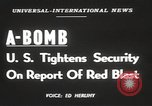 Image of Soviet Union possession of atomic bomb United States USA, 1949, second 3 stock footage video 65675062834