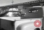 Image of armed guards protecting Hanford site nuclear facility Richland Washington USA, 1949, second 21 stock footage video 65675062835