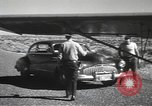 Image of armed guards protecting Hanford site nuclear facility Richland Washington USA, 1949, second 49 stock footage video 65675062835