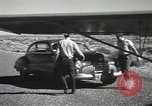 Image of armed guards protecting Hanford site nuclear facility Richland Washington USA, 1949, second 50 stock footage video 65675062835