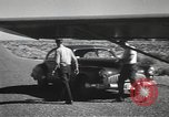 Image of armed guards protecting Hanford site nuclear facility Richland Washington USA, 1949, second 51 stock footage video 65675062835