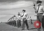 Image of armed guards protecting Hanford site nuclear facility Richland Washington USA, 1949, second 52 stock footage video 65675062835