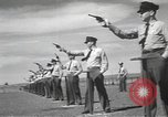 Image of armed guards protecting Hanford site nuclear facility Richland Washington USA, 1949, second 53 stock footage video 65675062835