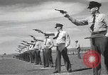 Image of armed guards protecting Hanford site nuclear facility Richland Washington USA, 1949, second 54 stock footage video 65675062835