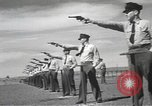 Image of armed guards protecting Hanford site nuclear facility Richland Washington USA, 1949, second 56 stock footage video 65675062835